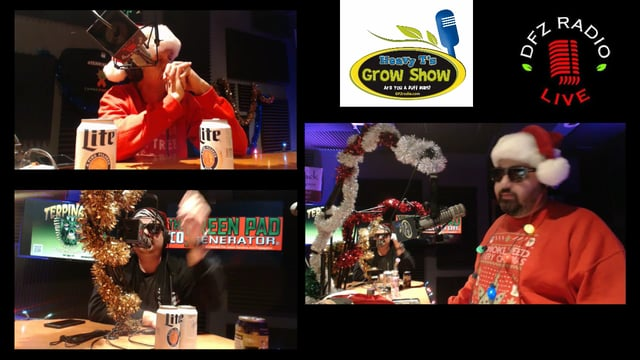 Heavy T Grow Show X-Mas Extravaganza 2017 W/ All Sponsors In-Studio And On The Line W/ Tons Of Giveaways
